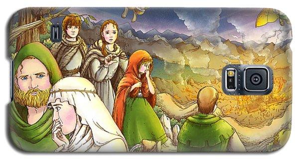 Robin Hood And Matilda Galaxy S5 Case