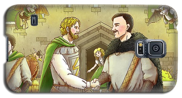Robin Hood And The Captain Of The Guard Galaxy S5 Case