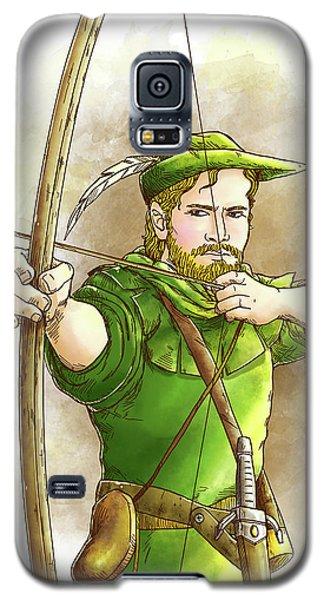 Robin Hood The Legend Galaxy S5 Case by Reynold Jay