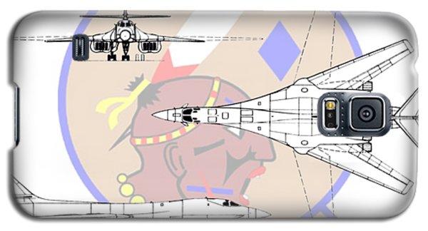 Galaxy S5 Case featuring the digital art Rockwell B-1b Lancer by Arthur Eggers