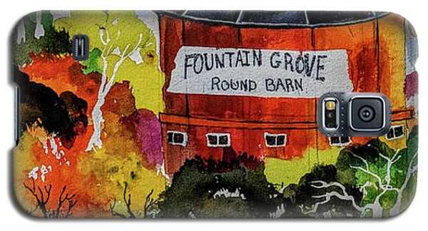 Round Barn ,santa Rosa Galaxy S5 Case