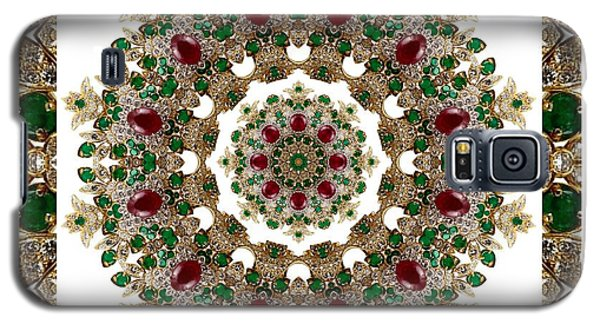 Ruby And Emerald Kaleidoscope Galaxy S5 Case