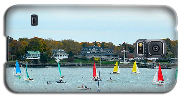 Galaxy S5 Case featuring the photograph Sailing by Raymond Earley