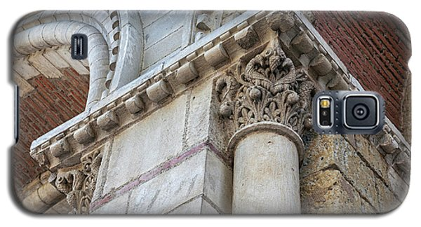 Galaxy S5 Case featuring the photograph Saint Sernin Basilica Architectural Detail by Elena Elisseeva