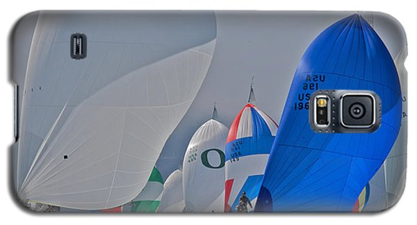 San Francisco Bay Sailboat Racing Galaxy S5 Case