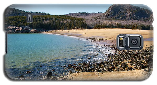 Sand Beach Acadia National Park Galaxy S5 Case