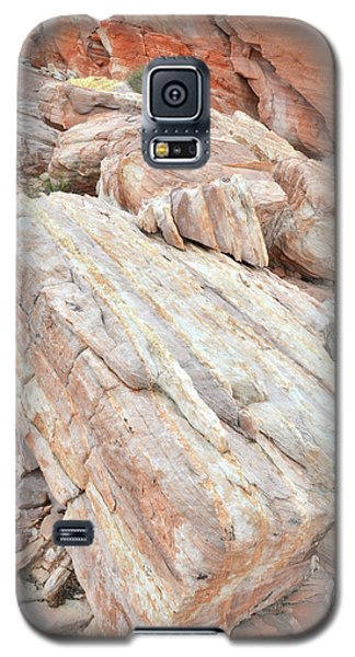 Galaxy S5 Case featuring the photograph Sandstone Slope In Valley Of Fire by Ray Mathis