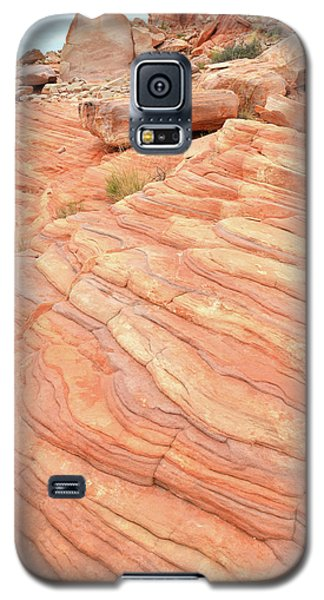Galaxy S5 Case featuring the photograph Sandstone Swirls In Valley Of Fire by Ray Mathis