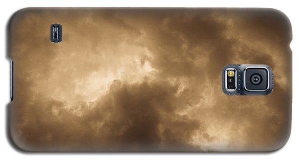 Sepia Clouds Galaxy S5 Case