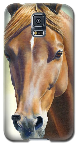 Galaxy S5 Case featuring the painting Serenity by Alecia Underhill