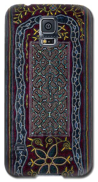 Galaxy S5 Case featuring the photograph Shipibo Art by Ulrich Schade