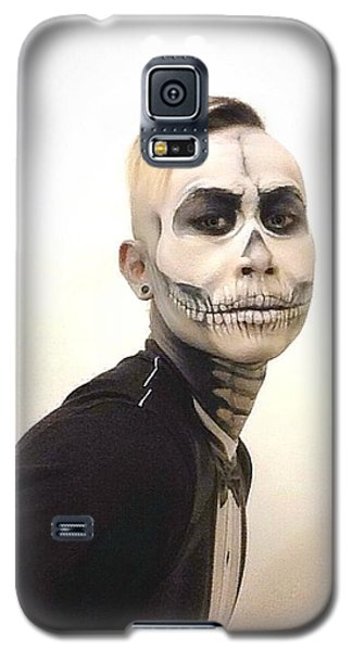 Skull And Tux Galaxy S5 Case by Kent Chua