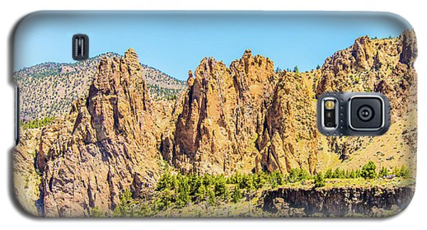 Galaxy S5 Case featuring the photograph Smith Rock by Jonny D