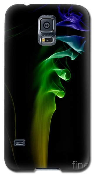 Galaxy S5 Case featuring the photograph smoke XXVI by Joerg Lingnau