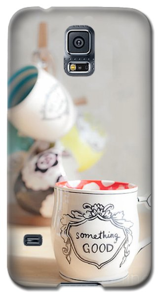 Galaxy S5 Case featuring the photograph Something Good by Aiolos Greek Collections