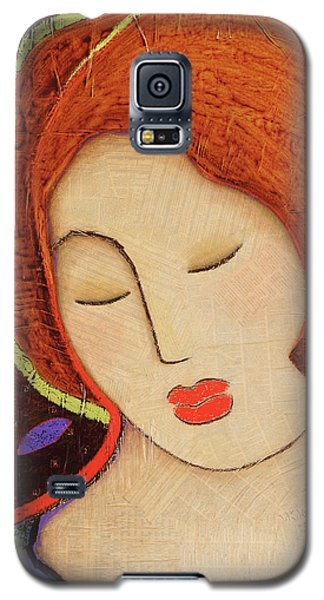Galaxy S5 Case featuring the painting Soul Memory by Gloria Rothrock
