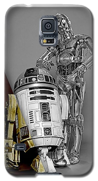 Star Wars C3po And R2d2 Collection Galaxy S5 Case