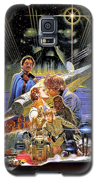 Star Wars Galaxy S5 Case - Star Wars Episode V - The Empire Strikes Back 1980 by Geek N Rock