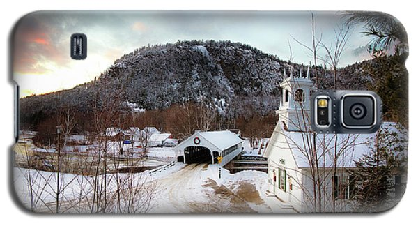 Galaxy S5 Case featuring the photograph Stark New Hampshire by Robert Clifford