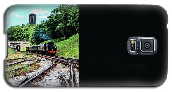 Steam Train Galaxy S5 Case