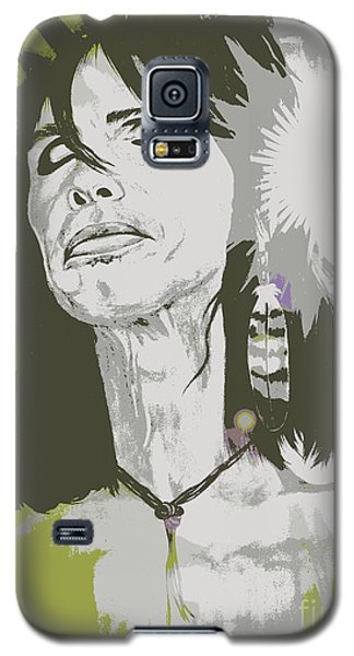 Galaxy S5 Case featuring the painting Steven Tyler  by Jeepee Aero