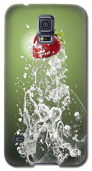 Strawberry Splash Galaxy S5 Case
