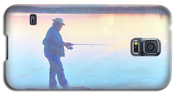 Sunrise Fisherman Galaxy S5 Case