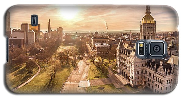 Galaxy S5 Case featuring the photograph Sunrise In Hartford Connecticut by Petr Hejl