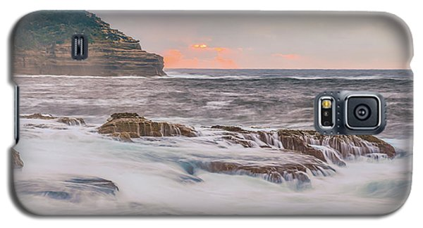 Sunrise Seascape And Headland Galaxy S5 Case