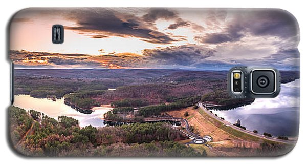 Sunset At Saville Dam - Barkhamsted Reservoir Connecticut Galaxy S5 Case by Petr Hejl