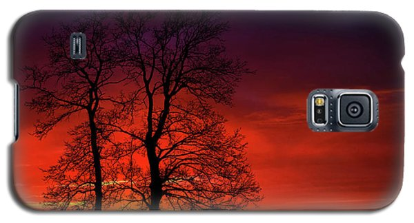 Galaxy S5 Case featuring the photograph Sunset by Bess Hamiti