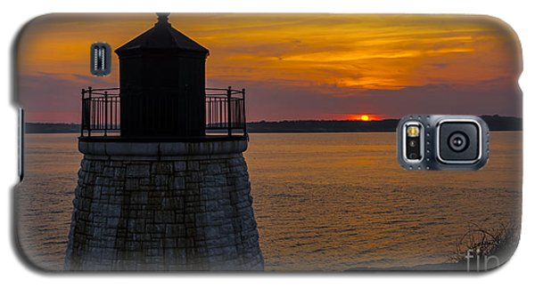 Sunset From Castle Hill Lighthouse. Galaxy S5 Case