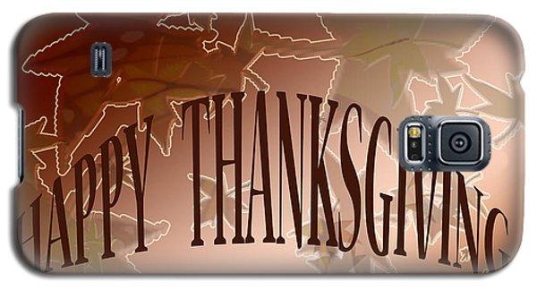 Thanksgiving Card Galaxy S5 Case by Debra     Vatalaro