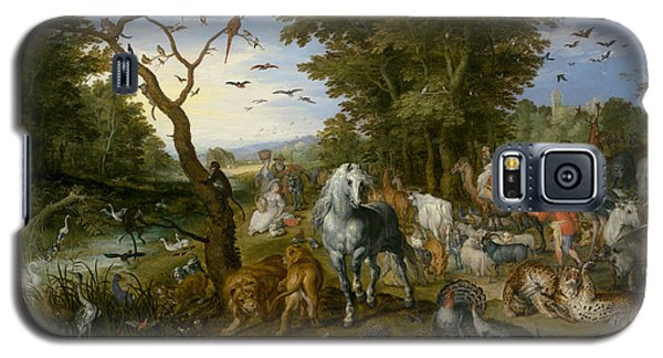 The Entry Of The Animals Into Noah's Ark Galaxy S5 Case