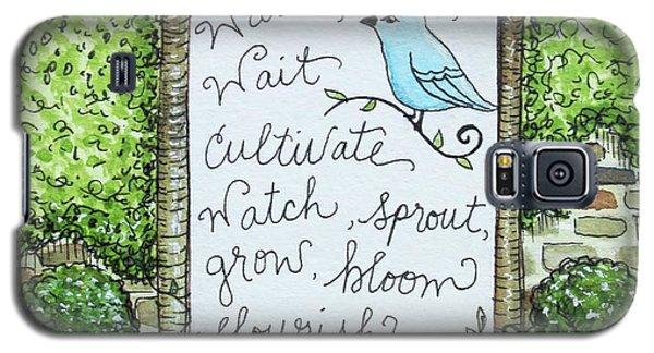 The Garden Galaxy S5 Case by Elizabeth Robinette Tyndall