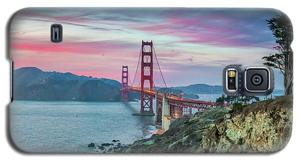 The Golden Gate Galaxy S5 Case by JR Photography