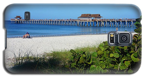 The Historic Naples Pier Galaxy S5 Case by Robb Stan