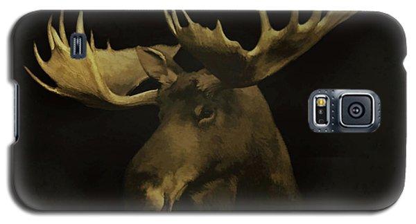 Galaxy S5 Case featuring the digital art The Moose by Ernie Echols