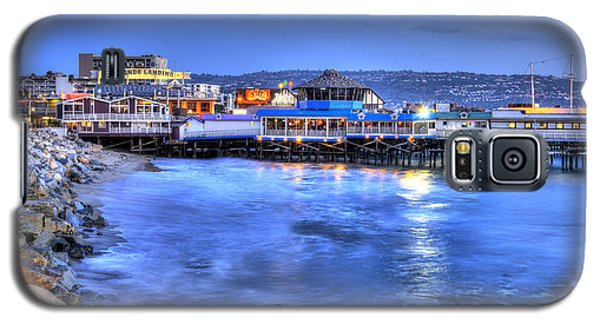 Redondo Landing At Night Galaxy S5 Case by Richard J Cassato