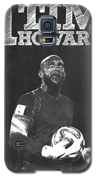 Tim Howard Galaxy S5 Case by Semih Yurdabak