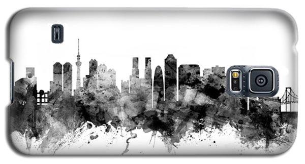 Tokyo Japan Skyline Galaxy S5 Case by Michael Tompsett