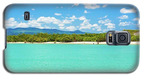 Tortuga Bay Beach At Santa Cruz Island In Galapagos  Galaxy S5 Case by Marek Poplawski