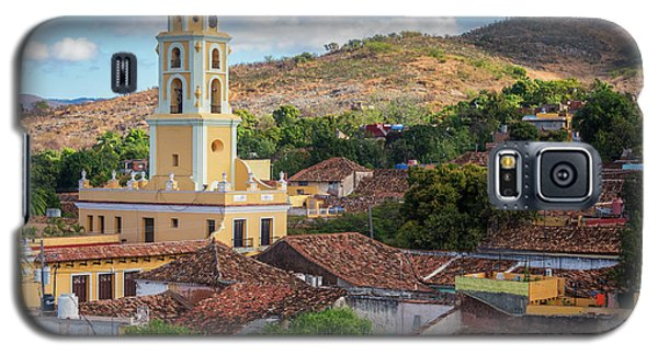 Galaxy S5 Case featuring the photograph Trinidad Cuba Cityscape II by Joan Carroll