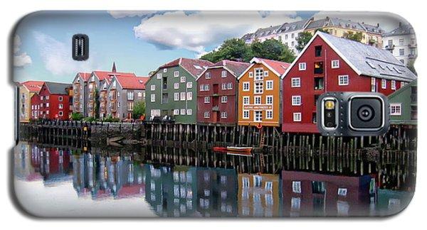 Trondheim Coastal View Galaxy S5 Case