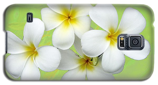 Tropical Frangrapani Galaxy S5 Case