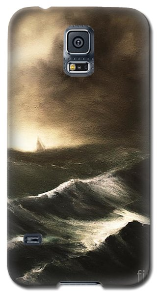 Galaxy S5 Case featuring the painting Untitled by Stephen Roberson