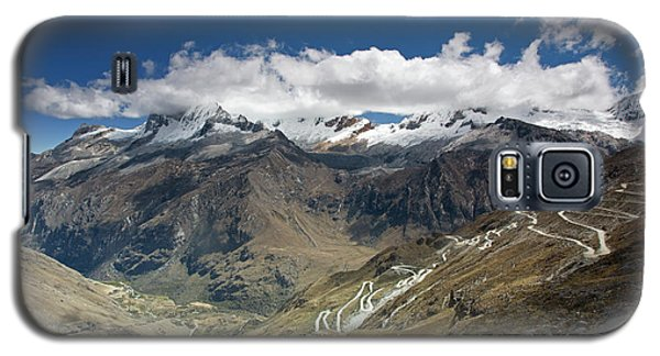 View From Portachuelo Pass Galaxy S5 Case