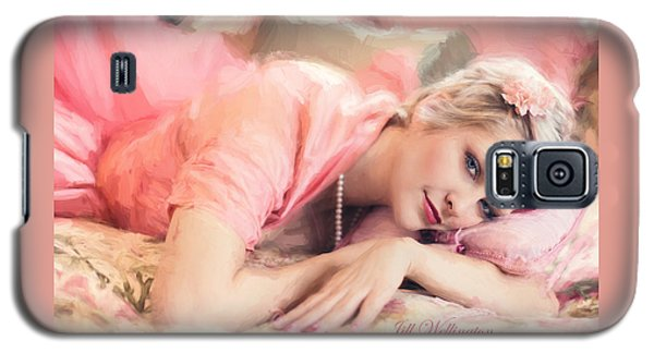 Vintage Val Bedroom Dreams Galaxy S5 Case