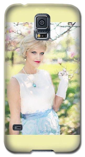 Vintage Val Magnolias Galaxy S5 Case