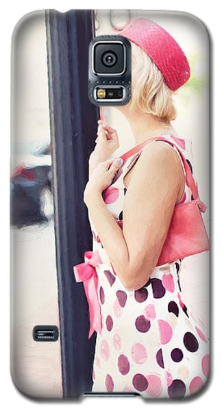 Vintage Val The Coral Hat Galaxy S5 Case